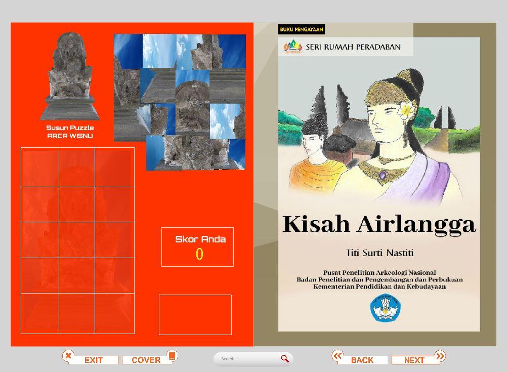 Alat Peraga dan Buku Pengayaan Digital Rumah Peradaban Lamongan 2021