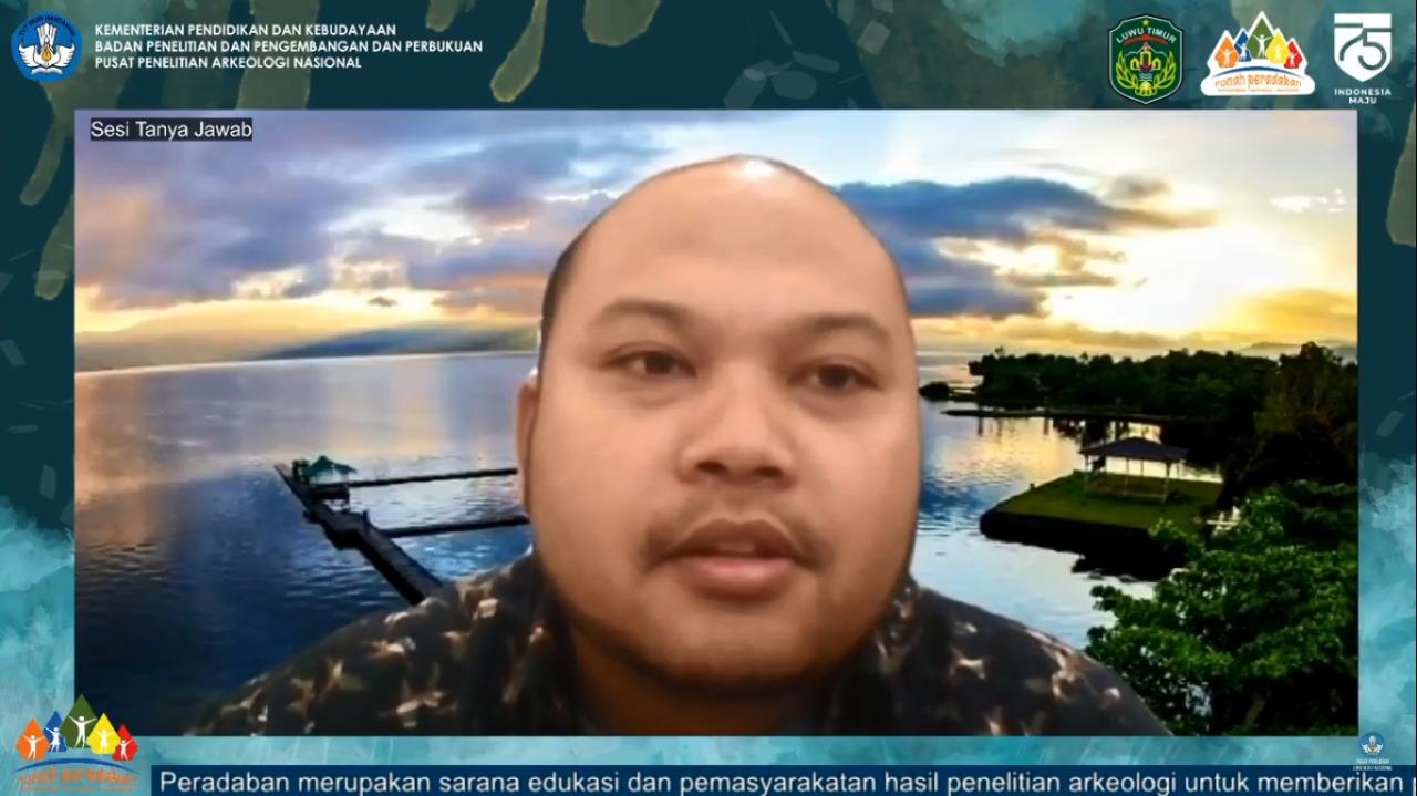 Webinar Rumah Peradaban Virtual Danau Matano 2020